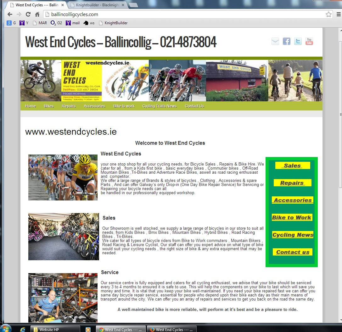 Web Design Cork by Website Builder | Web Design Cork by Website ...