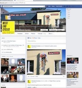 WestEnd facebook