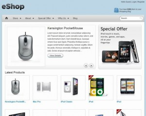 e wordpress-ecommerce-theme-eshop